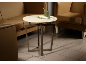 Стол журнальный Рилле 440 бежевый - Мебельная фабрика «Мебелик»
