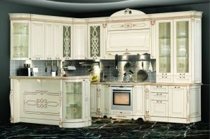 Модульная Кухня София 3 Ваниль - Мебельная фабрика «Кубань-Мебель»