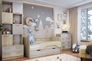 Детская мебель Акварель Капучино - Мебельная фабрика «Сильва»