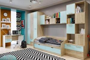 Детская мебель Акварель Кэнди - Мебельная фабрика «Сильва»