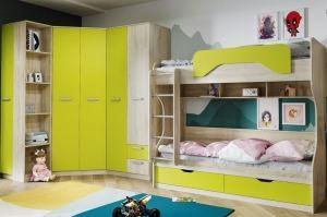 Детская мебель Акварель Лайм - Мебельная фабрика «Сильва»