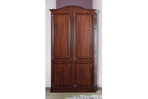 Шкаф-комби 2-дверный Глория Орех - Мебельная фабрика «Кубань-Мебель»