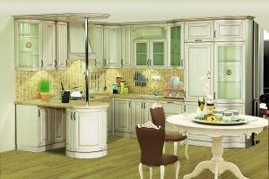 Модульная кухня Нова 2 Ваниль - Мебельная фабрика «Кубань-Мебель»