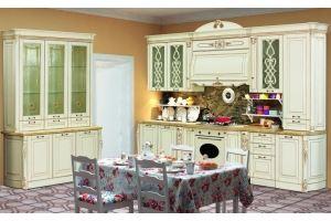 Модульная Кухня София 1 Ваниль - Мебельная фабрика «Кубань-мебель»