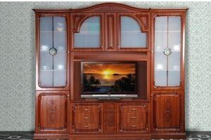 Гостиная стенка Глория Орех L2510 - Мебельная фабрика «Кубань-Мебель»