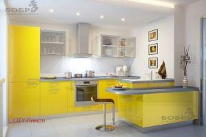 Кухня City пластик - Мебельная фабрика «Бобр»