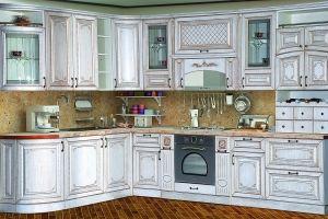 Модульная Кухня Прага 2000х3200 Белый Ясень - Мебельная фабрика «Кубань-Мебель»