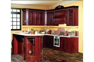 Модульная Кухня София 4 Орех - Мебельная фабрика «Кубань-Мебель»