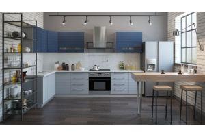Кухня в стиле Лофт Виктория - Мебельная фабрика «Молчанов»