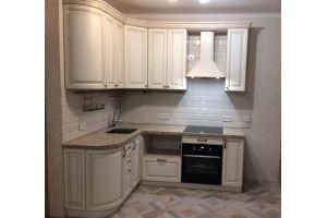 Кухонный гарнитур МДФ-патина, цена за метр погонный - Мебельная фабрика «Мебель Миру»