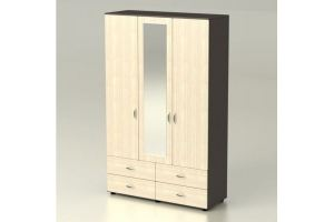 Шкаф Максим 3-х створчатый - Мебельная фабрика «Комодофф»