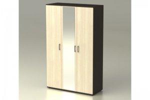 Шкаф Максим трехстворчатый с зеркалом - Мебельная фабрика «Комодофф»