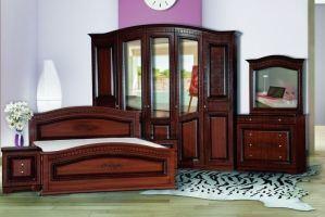 Модульная Спальня Венера 5-дверная Орех - Мебельная фабрика «Кубань-Мебель»