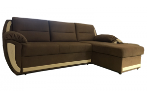 Угловой диван-кровать Софи с оттоманкой - Мебельная фабрика «Виктория Мебель»