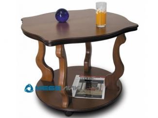 Стол журнальный Берже 4 на колесах - Мебельная фабрика «Мебелик»