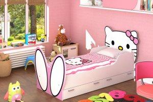 Детская кровать Hello Kitty - Мебельная фабрика «Д.А.Р. Мебель»