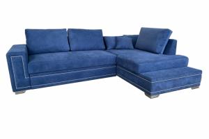 Диван Евроугол с отделкой - Мебельная фабрика «Лори»