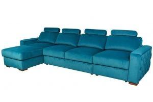 Диван Orlean с оттоманкой большой - Мебельная фабрика «Malitta»