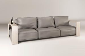 Диван прямой Loftgear нераскладной - Мебельная фабрика «МАКС Интерьер»