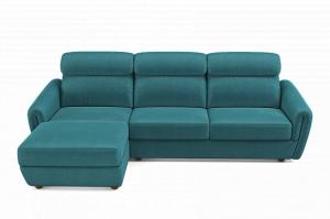 Диван  Di-este с оттоманкой - Мебельная фабрика «Malitta»