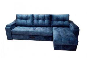 Диван угловой Лоренция с оттоманкой - Мебельная фабрика «Анжелика»