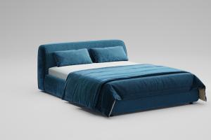 Двуспальная кровать Sonata - Мебельная фабрика «МАКС Интерьер»