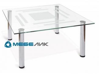 Стол журнальный Робер 8М хром - Мебельная фабрика «Мебелик»
