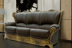 Диван  Кимберли трехместный кожа - Мебельная фабрика «Флоренция»