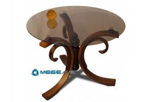 Стол журнальный Миледи коричневый - Мебельная фабрика «Мебелик»