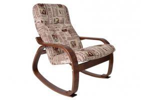 Кресло-качалка Сайма Газета - Мебельная фабрика «Мебелик»