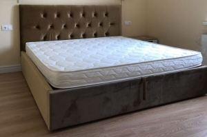 Кровать с мягким изголовьем - Мебельная фабрика «Сапсан»