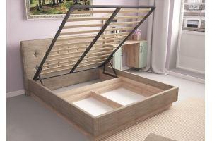 Кровать Ханна 1600 - Мебельная фабрика «Комфорт-S»