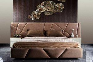 Кровать интерьерная Ecoline - Мебельная фабрика «МАКС Интерьер»