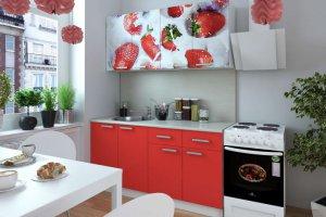 Кухня Клубника - Мебельная фабрика «Д.А.Р. Мебель»