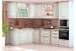 Модульная Кухня Сан-Марино 2000х3000 Эмаль Крем - Мебельная фабрика «Кубань-Мебель»