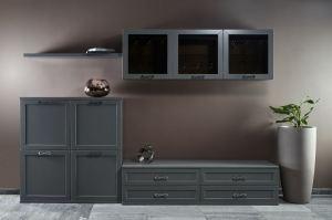 Модульная cтенка для гостиной Турин - Мебельная фабрика «МАКС Интерьер»