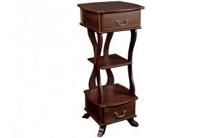 Подставка Берже 14 темно-коричневый - Мебельная фабрика «Мебелик»