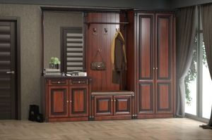 Прихожая модульная Деметра Орех - Мебельная фабрика «Кубань-Мебель»