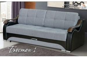 Прямой диван Бостон-1 - Мебельная фабрика «DeLuxe»