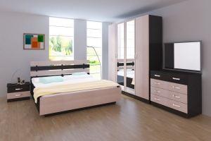 Модульная Спальня Пиксель 1 - Мебельная фабрика «Кубань-Мебель»