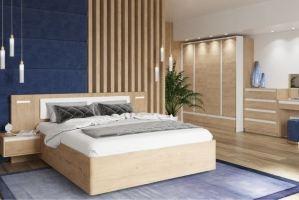 Спальня с комодом Virginia - Мебельная фабрика «Сильва»