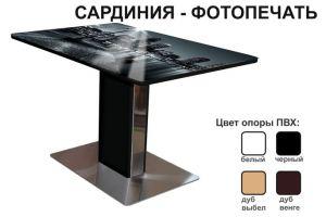 Стол обеденный Сардиния Фотопечать - Мебельная фабрика «Аврора»