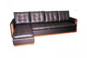 Брют 3х-местный диван с оттоманкой - Мебельная фабрика «Квинта», г. Челябинск