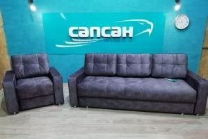 Набор диван Верона 14 и кресло - Мебельная фабрика «Сапсан»