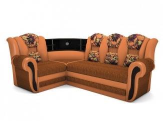 Угловой диван с баром Сенат - Мебельная фабрика «Лора»