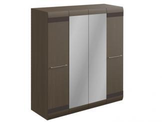 Шкаф четырехдверный с зеркалами (коллекция Кальяри) - Мебельная фабрика «Стайлинг»