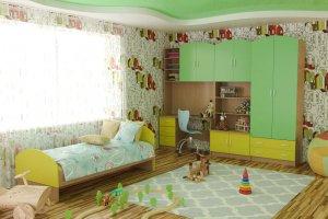 Детская Герда 1 - Мебельная фабрика «Д.А.Р. Мебель»