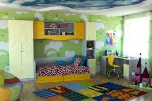 Детская Милена 1 - Мебельная фабрика «Д.А.Р. Мебель»