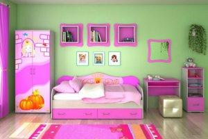 Детская Принцесса - Мебельная фабрика «Д.А.Р. Мебель»