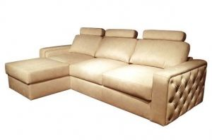 Диван Orlean с оттоманкой малый - Мебельная фабрика «Malitta»
